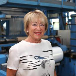 Birgit Bauerschmidt, Geschäftsführung der Bauerschmidt Kunststoff GmbH
