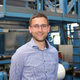 Giovanni Schiller, Technische Leitung der Bauerschmidt Folien